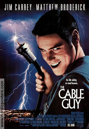 The Cable Guy 1998 poster Jim Carrey
