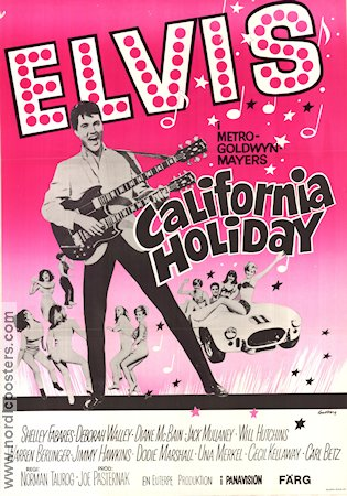 California Holiday Poster 70x100cm FN original