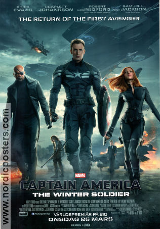 Captain America The Winter Soldier 2014 poster Chris Evans