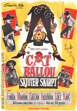 Cat Ballou Poster 70x100cm FN-NM original