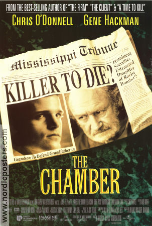 The Chamber 1996 poster Gene Hackman James Foley