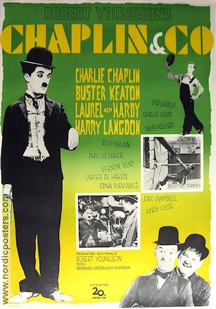 Chaplin and CO 1963 poster Charlie Chaplin