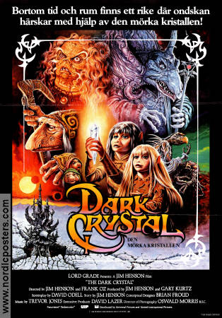 The Dark Crystal Poster 70x100cm FN original