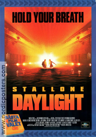 Daylight VHS 1996 poster Sylvester Stallone Rob Cohen
