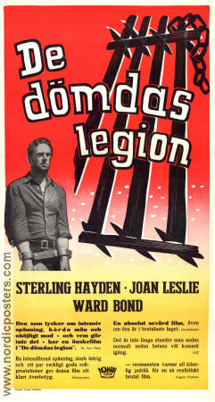 new product 38c21 f380d Posters Joan Leslie - De dömdas legion 1952 original