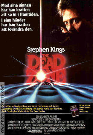 The Dead Zone Poster 70x100cm FN original