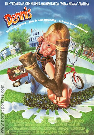 Dennis the Menace 1993 poster Christopher Lloyd