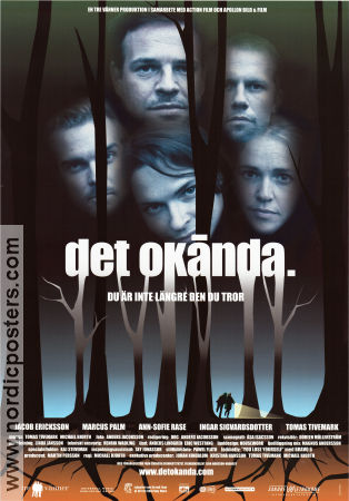 Det okända 2000 poster Jacob Ericksson Michael Hjorth