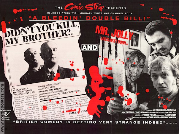 Didn´t You Kill My Brother? 1988 poster