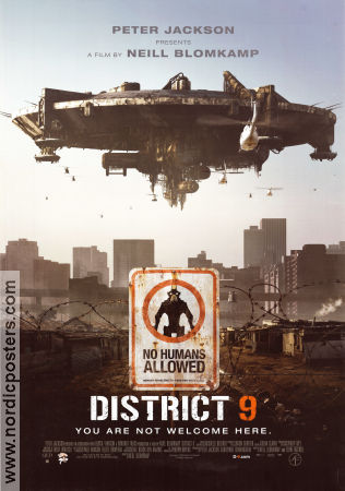 District 9 2009 poster Sharlto Copley Neill Blomkamp