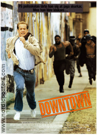 Downtown 1990 poster Anthony Edwards
