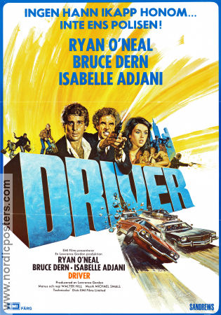 The Driver 1978 poster Ryan O'Neal Walter Hill