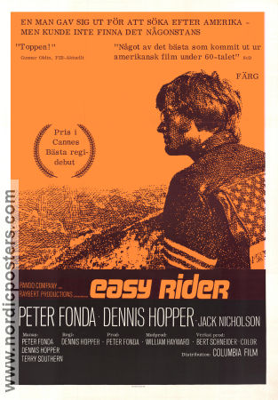 Easy Rider Poster 70x100cm FN small piece missing original