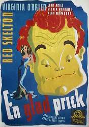 En glad prick Poster 70x100cm FN original