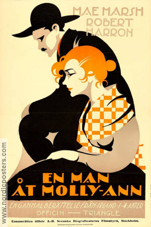 En man åt Molly-Ann 1916 poster Mae Marsh Paul Powell