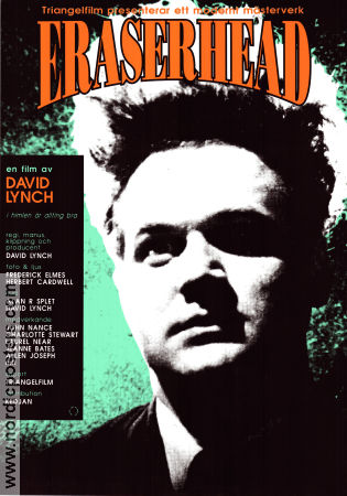 Eraserhead 1993 Filmaffisch Jack Nance David Lynch
