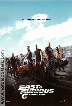 Fast and Furious 6 2013 poster Paul Walker Justin Lin