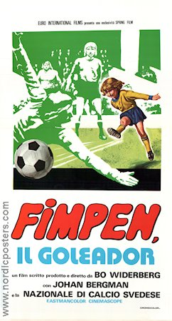 Fimpen 1974 poster Ronnie Hellström Bo Widerberg