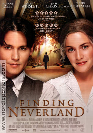 Finding Neverland 2004 poster Johnny Depp Marc Forster