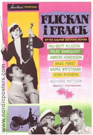 Flickan i frack Poster 70x100cm NM original