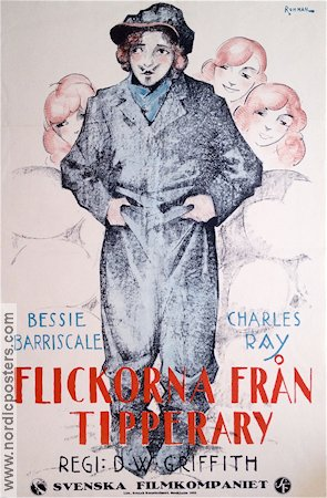 Flickorna från Tipperary 1915 poster Bessie Barriscale
