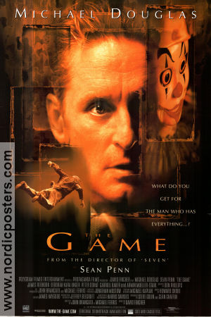 The Game 1997 poster Michael Douglas David Fincher