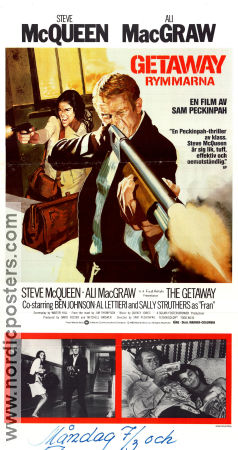 The Getaway Poster 30x70cm FN original
