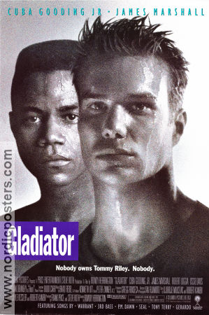 Gladiator 1992 poster Cuba Gooding Jr Rowdy Herrington