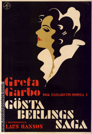 Gösta Berlings saga 1924 poster Greta Garbo Mauritz Stiller