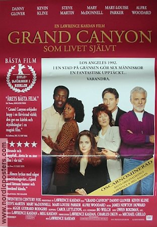 Grand Canyon 1991 poster Danny Glover
