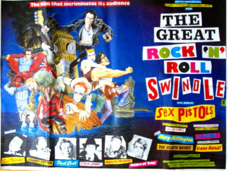 The Great Rock n Roll Swindle 1979 poster Sex Pistols
