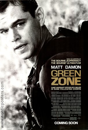 The Green Zone 2010 poster Matt Damon