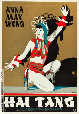 Hai-Tang 1930 poster Anna May Wong Richard Eichberg