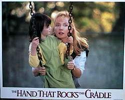The Hand That Rocks the Cradle 1988 lobbykort Annabella Sciorra