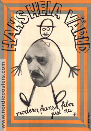 Hans hela värld 1935 poster Pierre Larquey Dominique Bernard-Deschamps