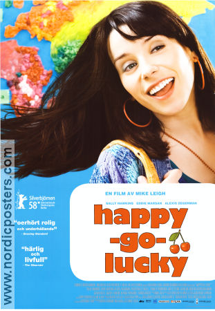 Happy-Go-Lucky 2008 poster Sally Hawkins Mike Leigh