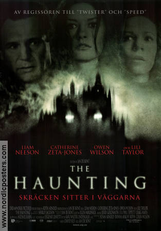The Haunting 1999 poster Liam Neeson