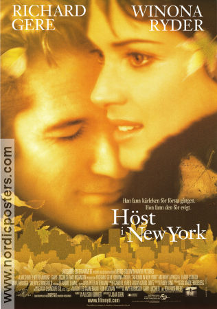 Höst i New York 2000 poster Richard Gere