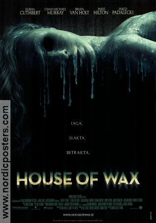 House of Wax Poster 70x100cm RO original