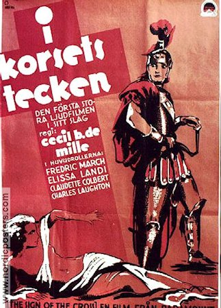 I korsets tecken 1932 poster Fredric March Cecil B DeMille