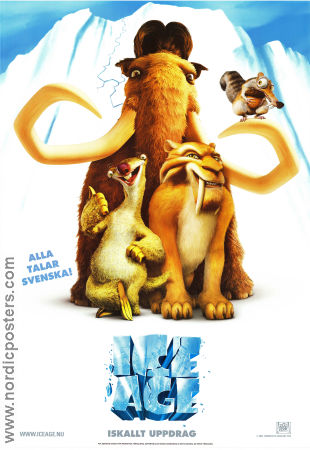 Ice Age 2002 poster Denis Leary Chris Wedge