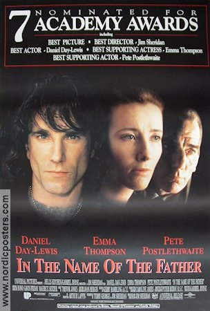 In the Name of the Father 1993 poster Daniel Day-Lewis