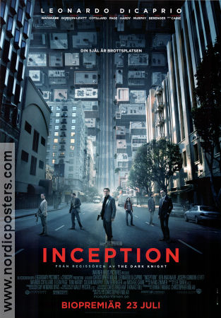 Inception 2010 poster Leonardo DiCaprio Christopher Nolan
