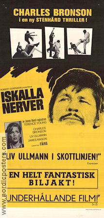 Iskalla nerver 1971 poster Charles Bronson Terence Young