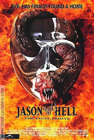 Jason Goes to Hell: The Final Friday 1993 poster John D LeMay