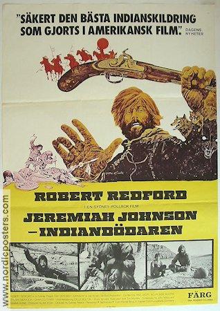 Filmaffisch Jeremiah Johnson Indiandödaren