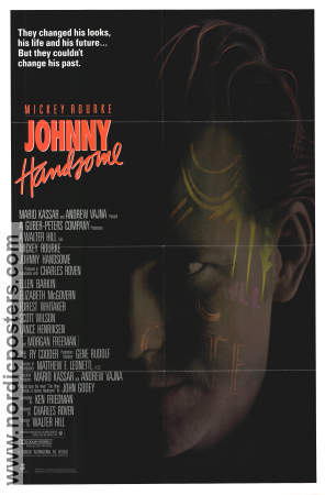 Johnny Handsome 1989 poster Mickey Rourke