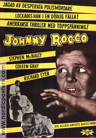 Johnny Rocco 1958 poster Richard Eyer Paul Landres