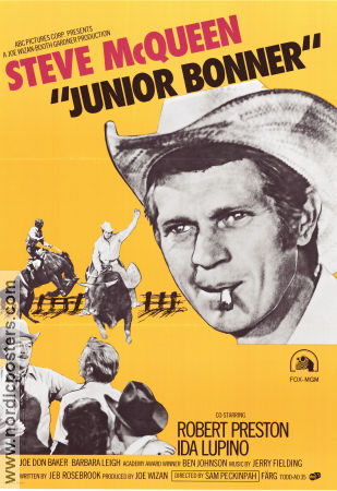 Junior Bonner Poster 70x100cm FN original