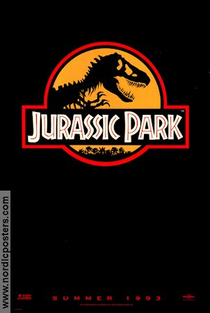 Jurassic Park Poster 68x102cm USA advance RO original